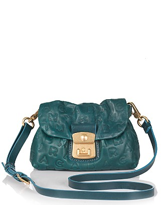 MARC BY MARC JACOBS Dreamy Logo Cosmo Lambskin Crossbody Bag