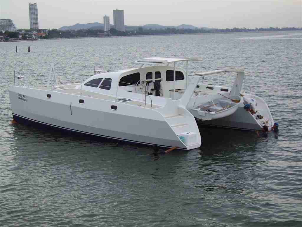CKD Boats - Roy Mc Bride: Outcast,a Proteus 106 catamaran