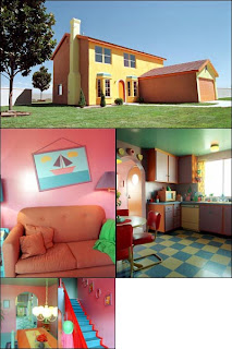 Krusty la casa de los simpsons for 1094 evergreen terrace springfield