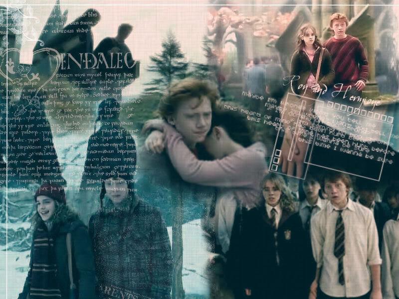 Hermione And Ron. Diposkan oleh my mind.. di