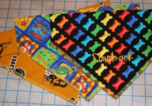 Tutorials dog scarf tutorial and give away for Dog bandana template