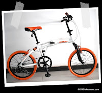 Sepeda Lipat DOPPELGANGER 215 BARBAROUS