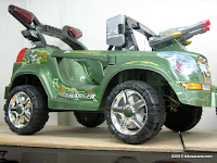 Mobil Mainan Aki Junior QX7466R Cross Country dengan Kendali Jauh