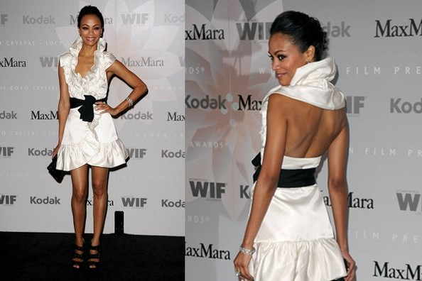 z3shMKnP4Uql Swa Rai Fashion Blog: Fashion Yay or Nay Zoe Saldana in MaxMara
