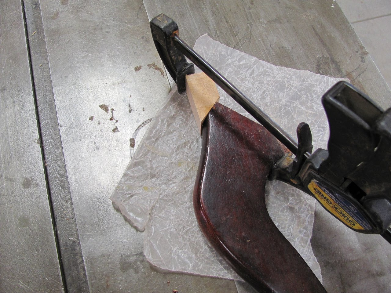 Thomas Nelson Furniture Restoration: Tilt-top Table Leg Repair