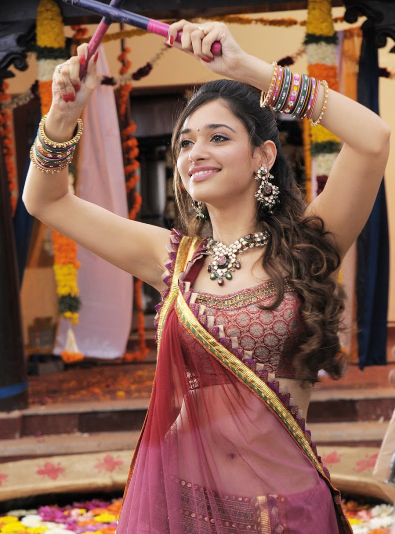 Tamanna Hot Stills - Siruthai Movie