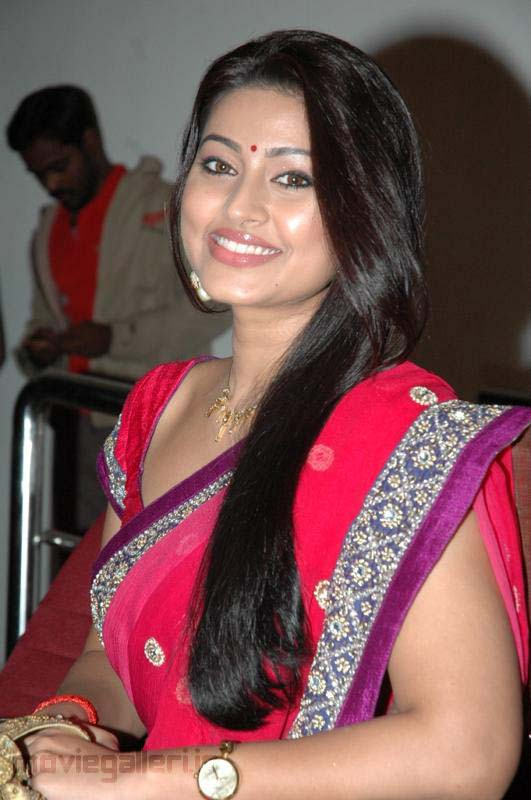 Sneha in Red Hot Saree - 12 Pics