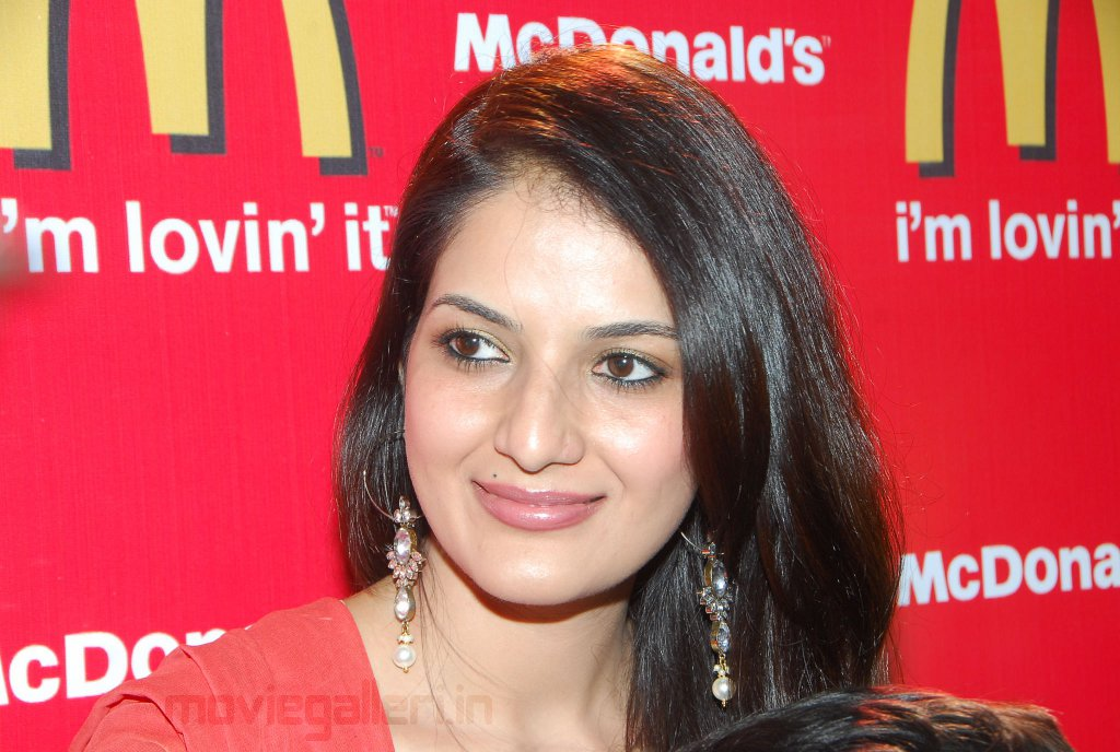 Ruthika Face Close Up at McDonald's Hyderabad Cartoon Carnival