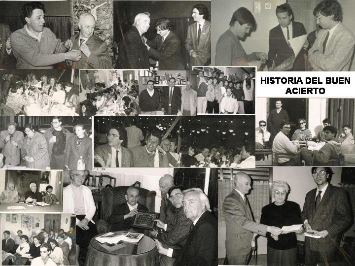 CUCARACHAS negras.HISTORIA EN BLANCO Y NEGRO DEL BUEN ACIERTO