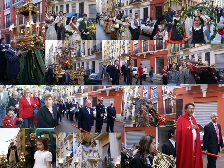 FIESTA DE LA CRUZ EN EL GRAO 3 DE MAYO 2007