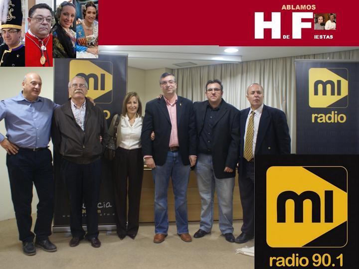 HABLAMOS DE FIESTAS EN MI RADIO FM
