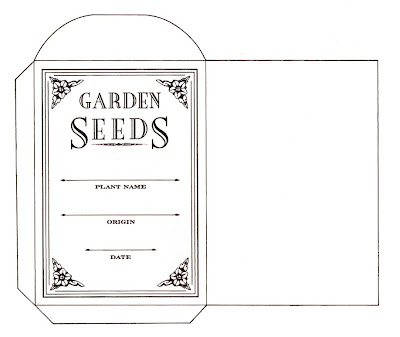 Seed Packet Wedding Favors on Decorative Seed Packets Can Be Used For Baby And Wedding Shower Favors