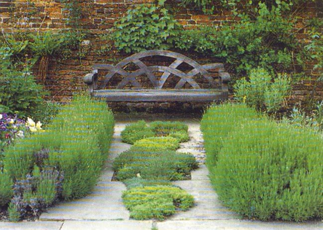 beautiful garden benches Beautiful Garden Bench | Content in a Cottage