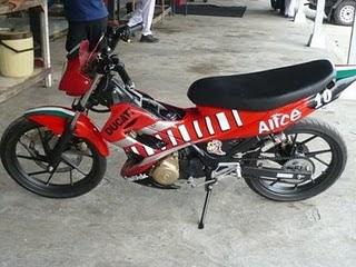 Cara Korek Harian Yamaha Scorpio