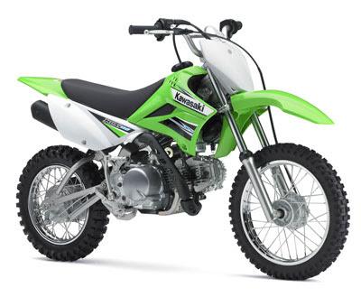 2011 Kawasaki motor KLX110 trail