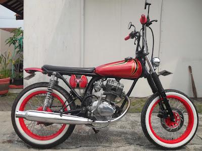 modif motor Honda CB 100