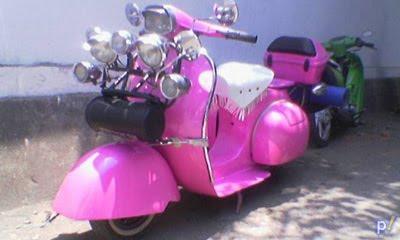 Modif Scooter Vespa Kentus Classic