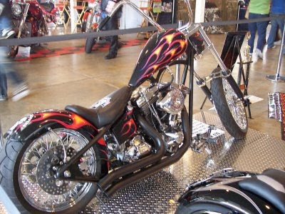 big daddy Harley-Davidson Chopper Modif