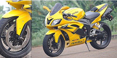 Honda Tiger Modif to Aprilia 2010