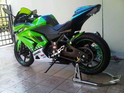 harga kawasaki ninja 150 rr. Modifikasi Kawasaki Ninja 250R