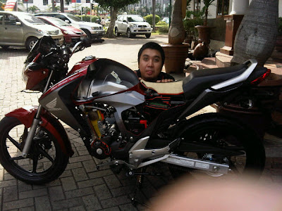 honda megapro. Honda New Megapro 2010