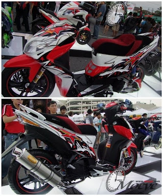 Sport Racing Yamaha Xeon 125 Modif  Pictures