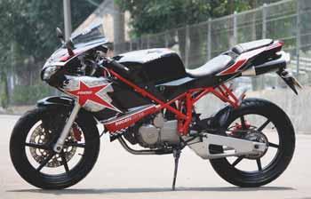 Modif Honda Mega Pro Sporty