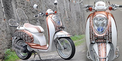 Honda Scoopy 110 cc Retro STYLIEST 2011
