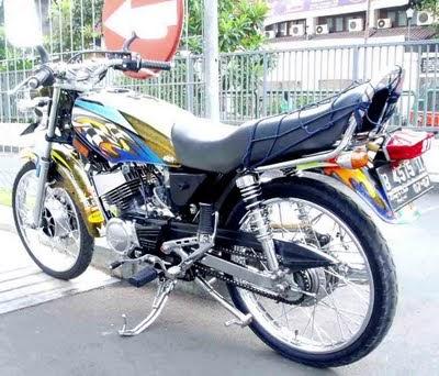 Trend Motor Modification Gambar Modif Yamaha Rx King Gallery
