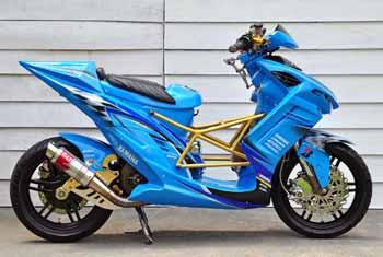 Bengkel Modifikasi Yamaha X Ride