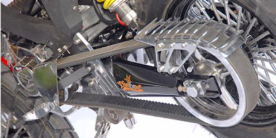 Suzuki Satria 120R Modified Supermotor No Chain