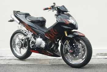 MODIFIKASI NEW YAMAH A JUPITER MX 135LC MOGE SPORTBIKE - Motorcycles