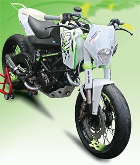 Modifikasi Honda GL PRO NEO Tech So KTM 690 Stunt (Concept)