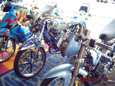 Modifikasi Yamaha RX King Airbrush