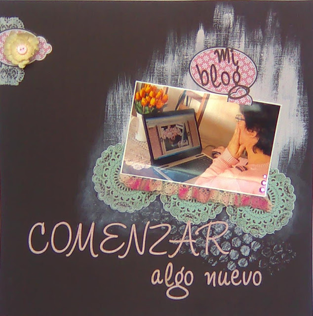 Página de scrap Layout