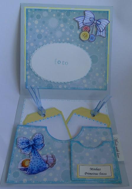 Tarjeta para bebé niño