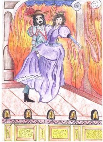 ¿Sabes que en la representación  hubo un incendio?