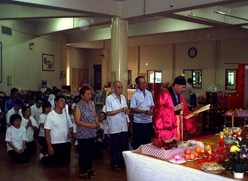 My Diary: Gongteck Prayer Ceremony at San Qing Gong, Singapore