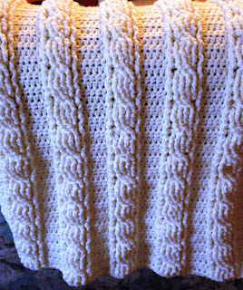 Crochet Stitches Cable : used the instructions this link to learn how to make crocheted cables ...
