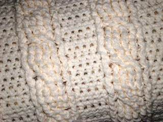 Two Needle Cable Knit Baby Booties Knitting Pattern