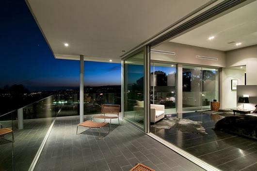 Arquitectura moderna mansão de luxo em la para milionários