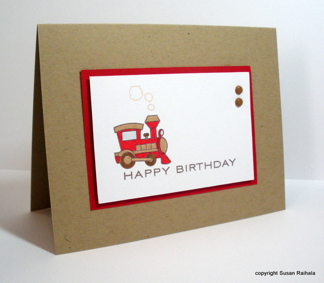 Simplicity Birthday Cards For Children