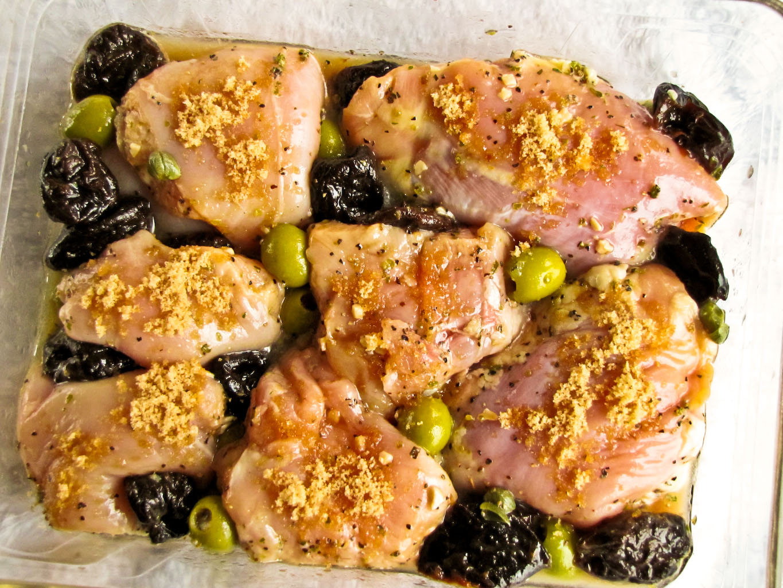 Recipes chicken marbella