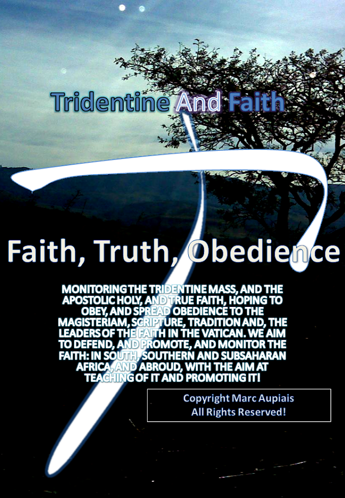 Tridentine and Faith