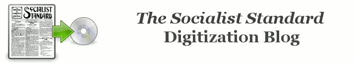 Socialist Standard digitization blog
