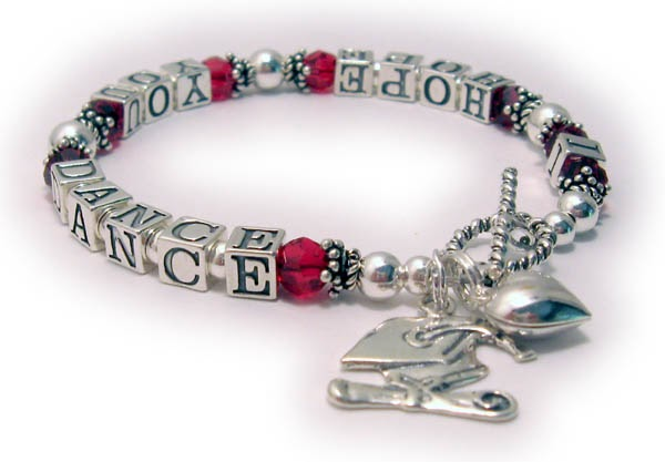 Designs By Leigha Photo Gallery I Hope You Dance Bracelet