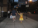Fairy Princess on Michigan Avenue, Chicago 2008