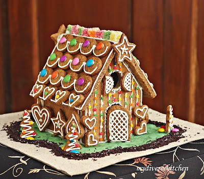 My Diverse Kitchen: The Magic of a Gingerbread House! Daring ...