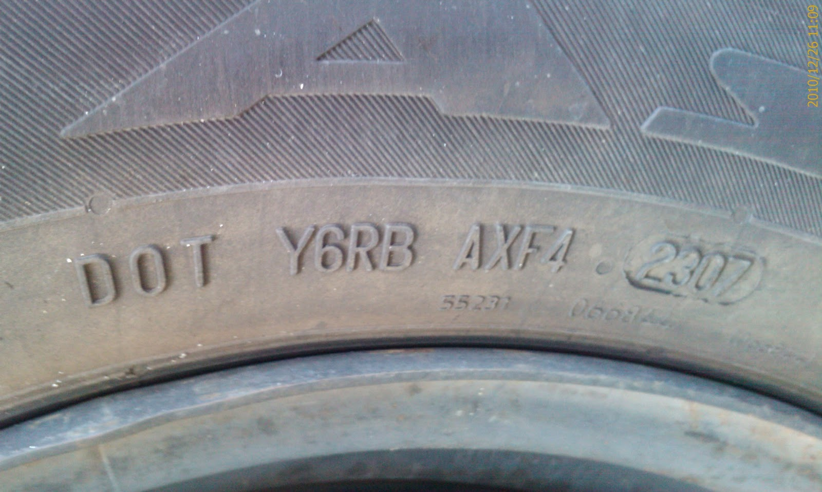 dating tyres Dating back to 1940's, when run flat tyres were developed, they first served as bulletproof tyres on military vehicles during wwii ongoing research soon endorsed run flat tyres to become suitable for passenger cars.