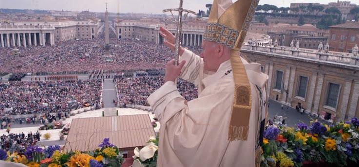 Il Papa venuto da lontano....